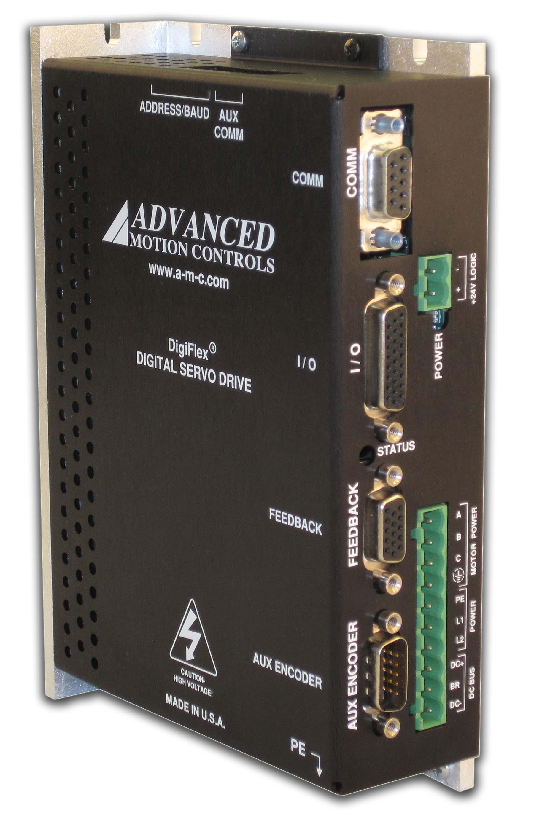 Advanced Motion Control Single Phase AC Servo Drive