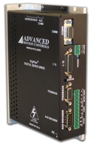 Advanced Motion Control Single Phase AC Servo Drive