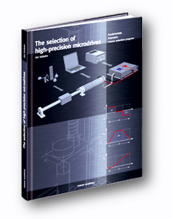 "Maxon ""The selection of high-precision microdrives"" Textbook"