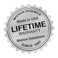 Macron Dynamics Lifetime Guarantee