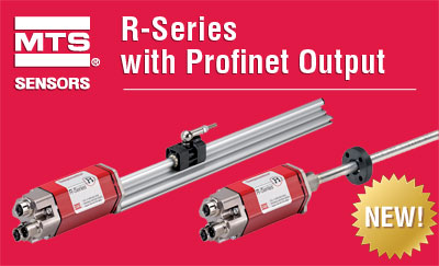 R-Series LDT with Profinet RT Output