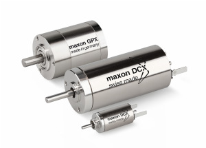 Maxon's NEW DCX configurable DC motors and gearheads