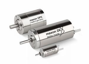 Maxon's NEW DCX configurable DC motors and gearheads