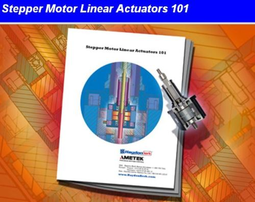 Haydon Kerk Stepper Motor Linear Actuator White Paper
