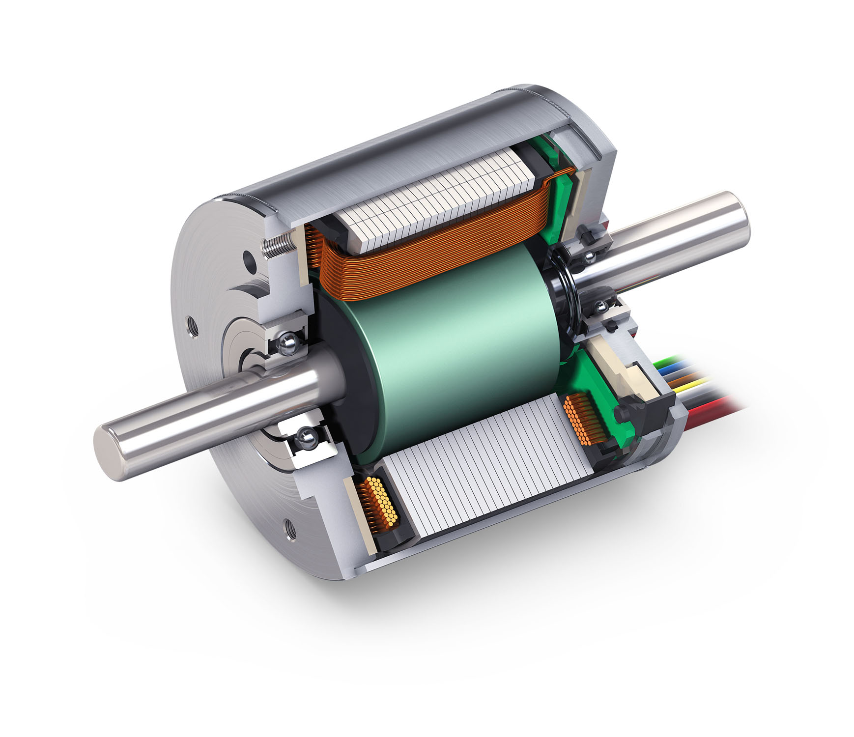 Highly Dynamic Dc Brushless Servo Motor Maxon S Ec I40