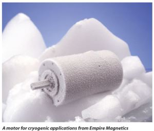 Empire Magnetics Cryogenic motor snippet