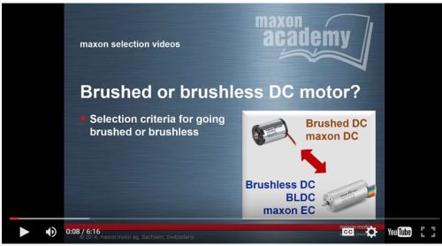brushless motor vs brushed. this 6min video helps you to decide whether a brushed motor or brushless would work better for your needs. start e-learning now with dr. urs vs