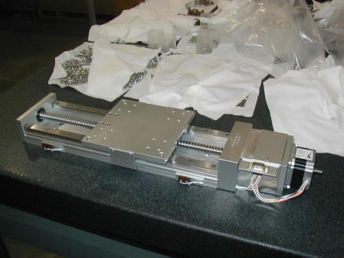 Lintech custom vacuum stage